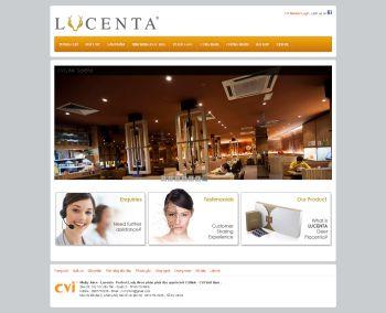 Thiết kế web giới thiệu - Mẫu 2