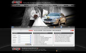 Thiết kế web ô tô - Mẫu 1