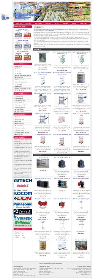 Thiết kế web thương mại điện tử - Mẫu 5
